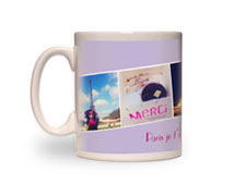 11oz White Photo Mug